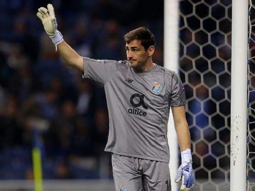 Thủ môn Casillas bị trụy tim khi đang tập cùng đồng đội