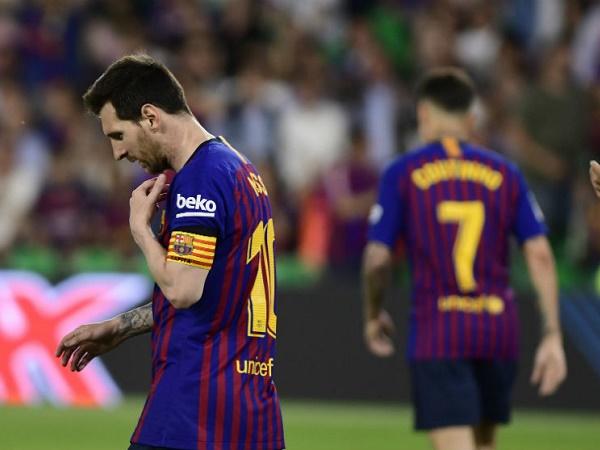 Barca xác nhận vắng Messi trước trận gặp Bilbao