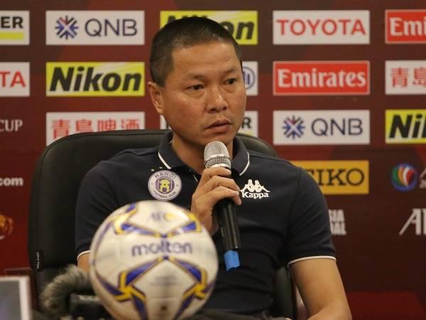HLV Chu Đình Nghiêm phủ nhận tin đồn chia tay Hà Nội FC