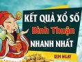 Soi cầu XS Bình Thuận chính xác thứ 5 ngày 17/09/2020