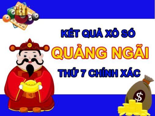 Nhận định KQXS Quảng Ngãi 24/7/2021 chốt XSQNG thứ 7